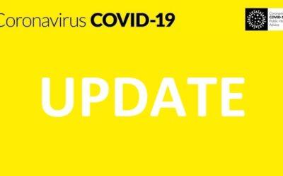 COVID-19, LEVEL 5, UPDATE.